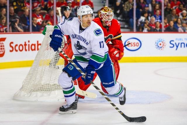 NHL: Preseason-Vancouver Canucks at Calgary Flames
